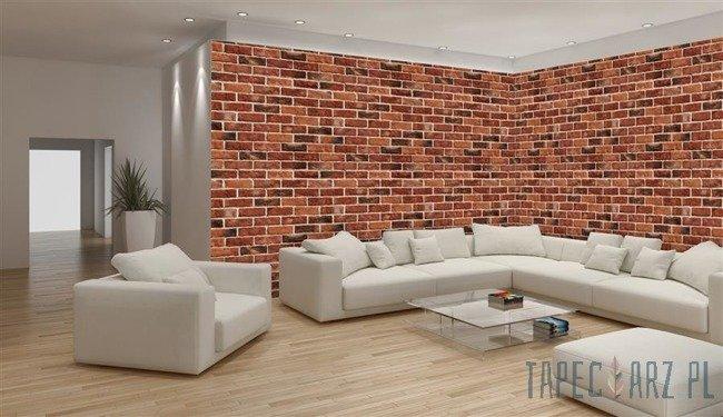 Fototapeta na flizelinie Mur z czerwonej cegły 788VEE
