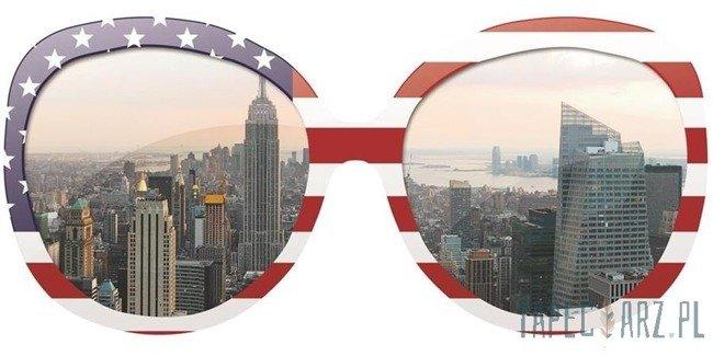 Fototapeta na flizelinie Nowy Jork w okularach 734