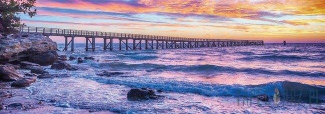 Fototapeta na flizelinie Zachód słońca nad morzem 10514VEE