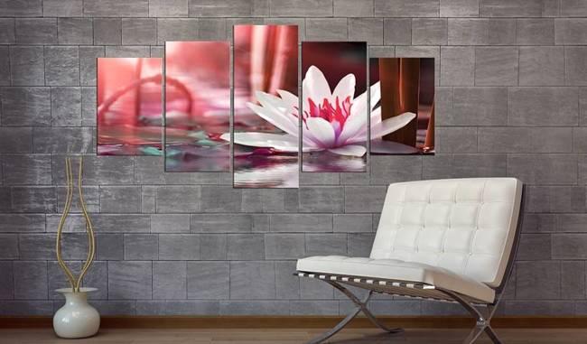 Obraz - Amarantowy lotos
