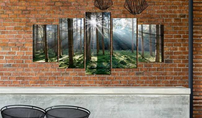 Obraz - Baśniowa puszcza