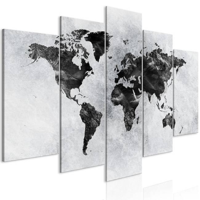 Obraz - Betonowy świat (5-częściowy) szeroki