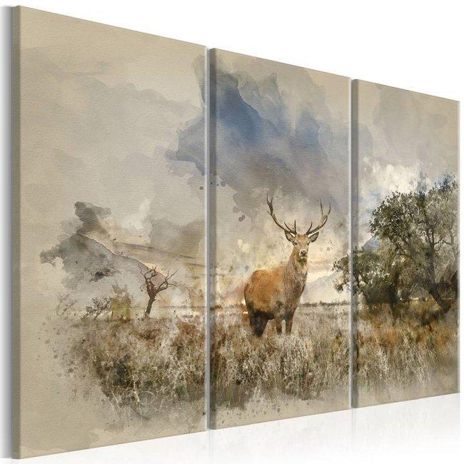 Obraz - Jeleń na polu I