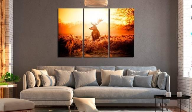 Obraz - Jeleń w słońcu I