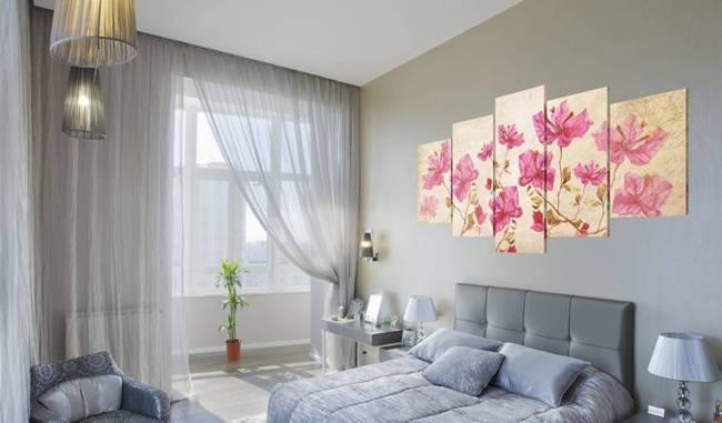 Obraz - Kwiaty w różu