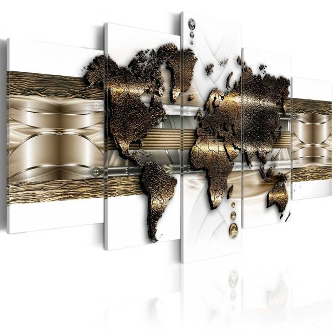 Obraz - Metaliczny świat