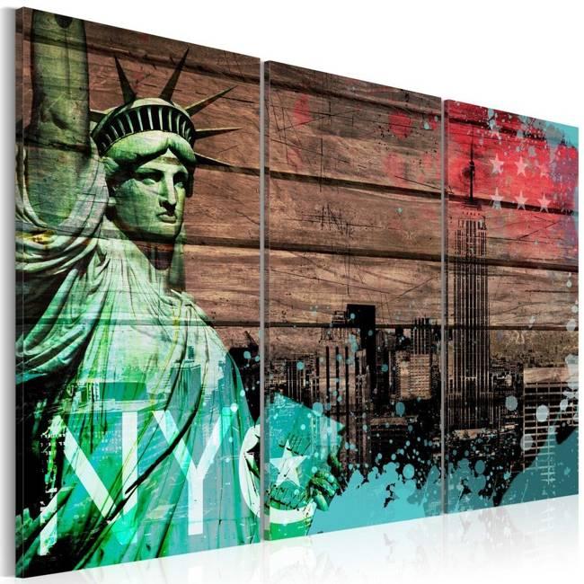 Obraz - NYC collage II
