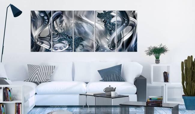 Obraz - Niebieska poświata