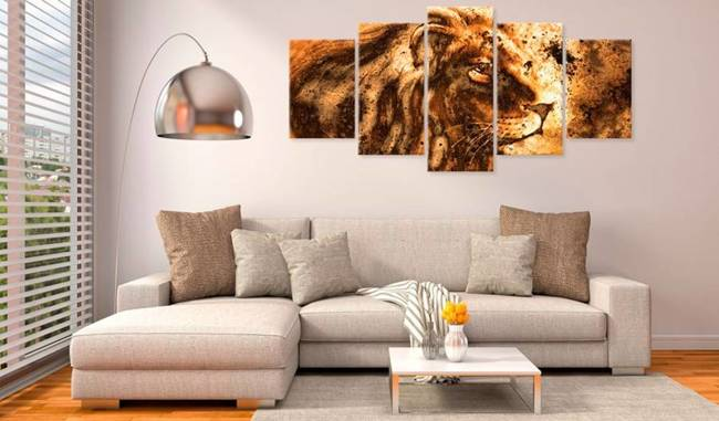 Obraz - Piękny lew