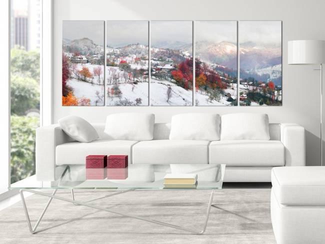 Obraz - Pierwszy śnieg (5-częściowy) wąski