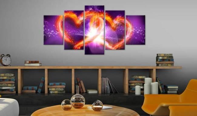 Obraz - Płomienie miłości