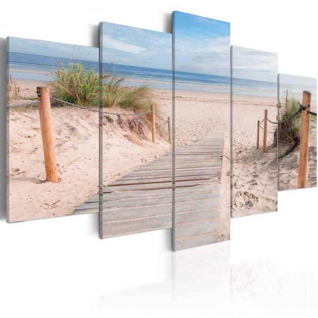 Obraz - Poranek na plaży