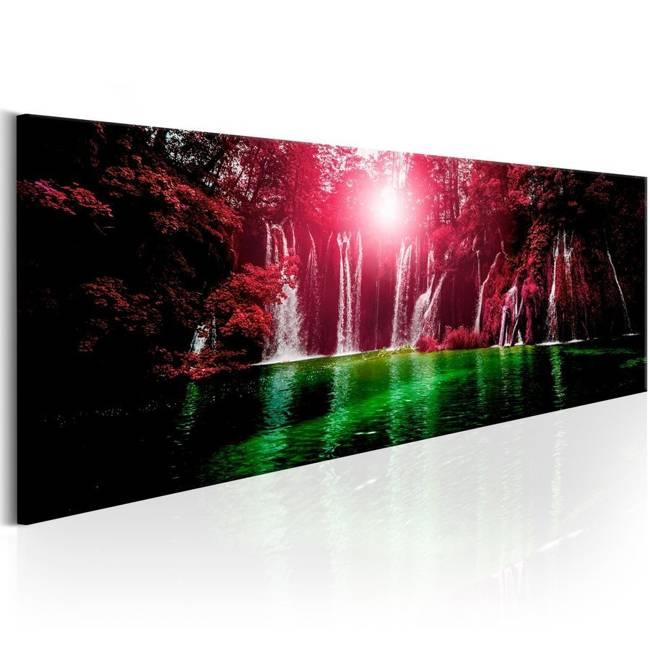 Obraz - Rubinowe wodospady