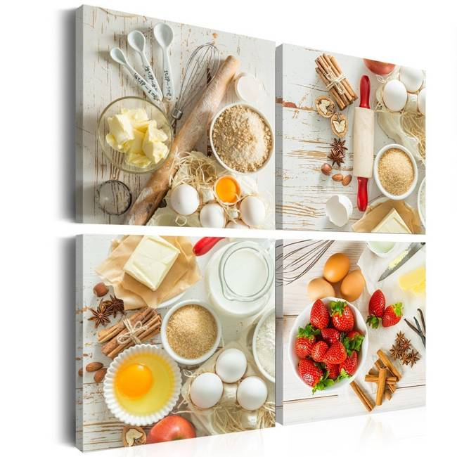 Obraz - Słodka kuchnia