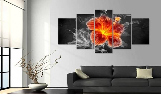 Obraz - Smoky flower