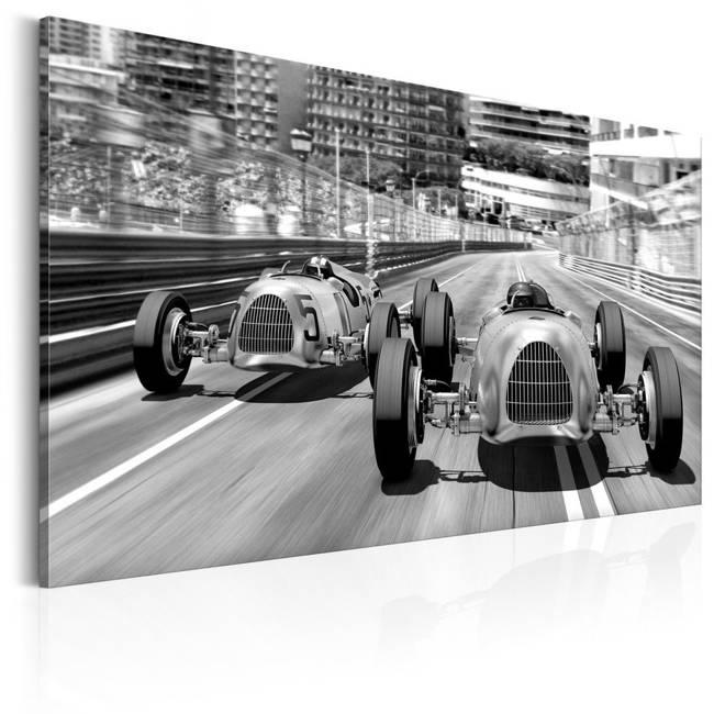 Obraz - Stare samochody wyścigowe