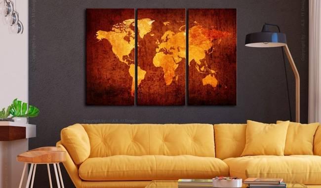 Obraz - Świat pomarańczy