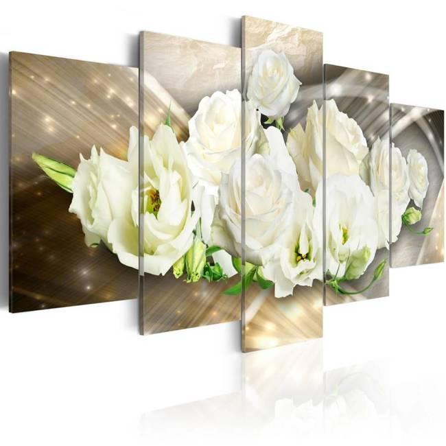 Obraz - Światło róży