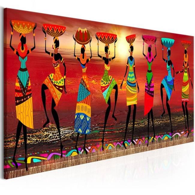 Obraz - Tańczące Afrykanki