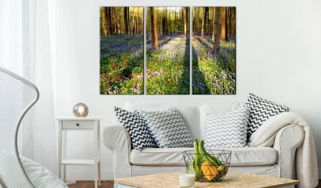 Obraz - Wiosenny las