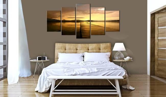Obraz - Wyspa zachodzącego słońca