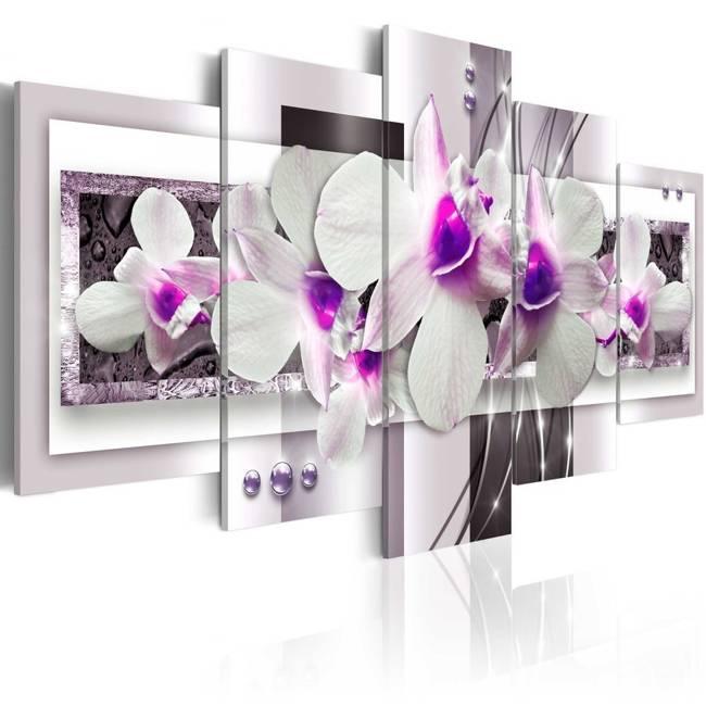 Obraz - Z fioletowym akcentem