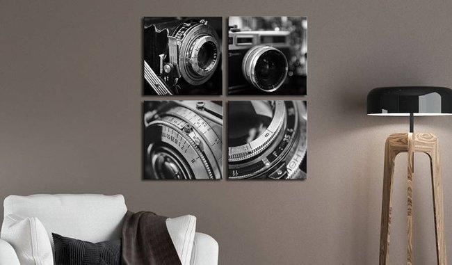 Obraz - Zabytkowe aparaty