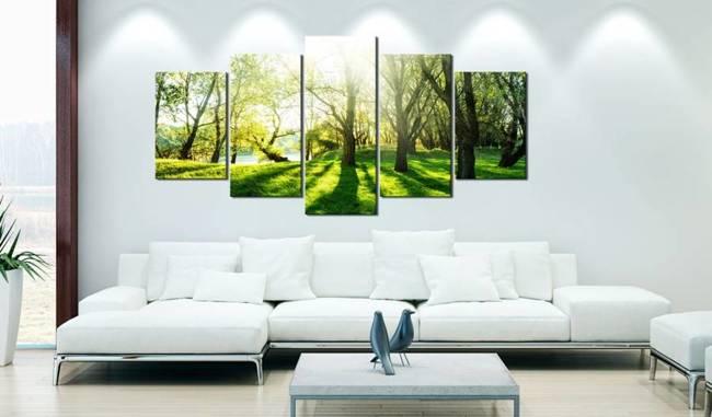 Obraz - Zielona polana
