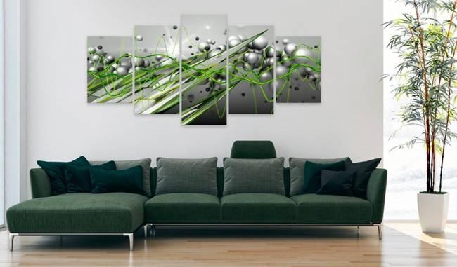 Obraz - Zielony rytm