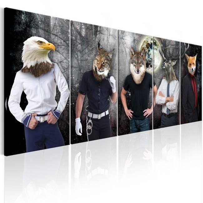 Obraz - Zwierzęce oblicza