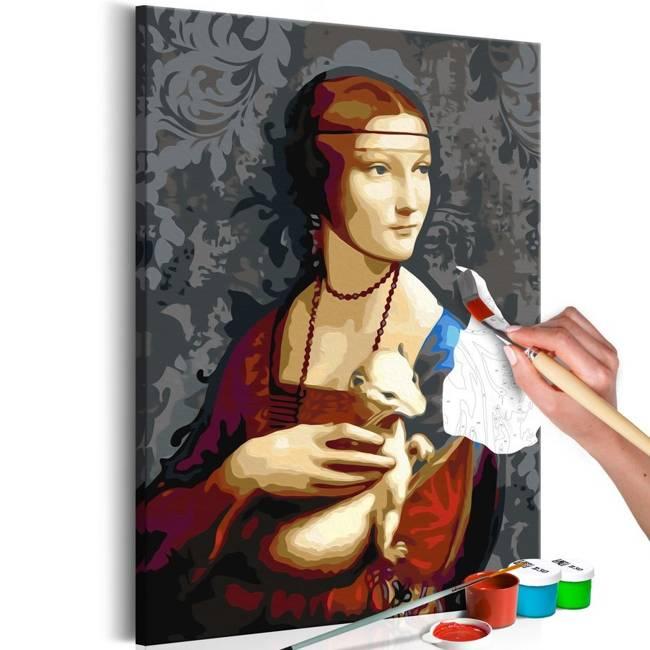 Obraz do samodzielnego malowania - Słynny portret