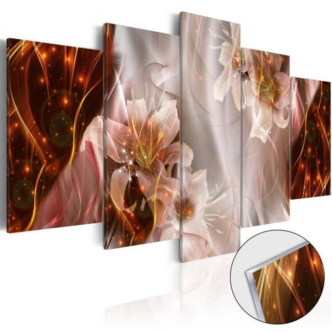 Obraz na szkle akrylowym - Gwiezdna burza [Glass]