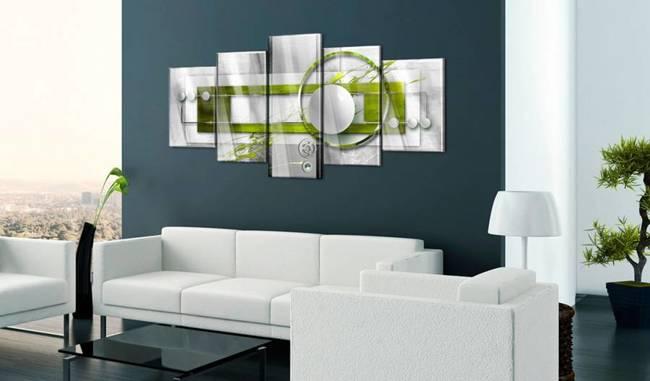 Obraz na szkle akrylowym - Zielona energia [Glass]