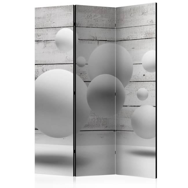 Parawan 3-częściowy - Kule [Room Dividers]