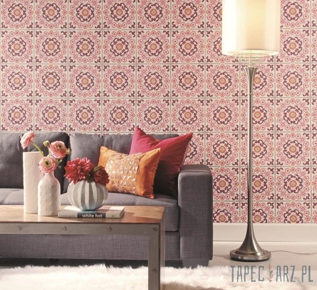 Tapeta ścienna York Wallcoverings MS6491 Modern Shapes