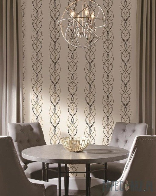Tapeta ścienna York Wallcoverings NW3548 Modern Metals