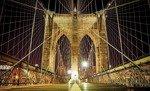 Fototapeta Brooklyn Bridge nocą 796