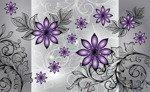 Fototapeta Fioletowe kwiaty 1244