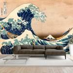 Fototapeta - Hokusai: Wielka fala w Kanagawie (Reprodukcja)