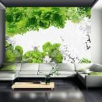 Fototapeta - Kolory wiosny: zielony