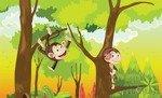 Fototapeta Wesołe małpki 2975