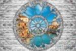 Fototapeta Widok przez okno na Wenecję 2104
