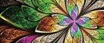 Fototapeta na flizelinie Kolorowe abstrakcyjne wzory 646VEP